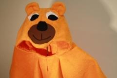 Badeponcho-Bär