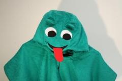 Badeponcho-Frosch