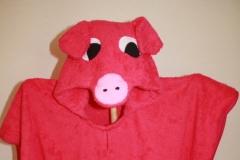 Badeponcho-Schweinchen