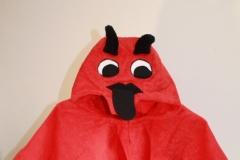 Badeponcho-Teufel